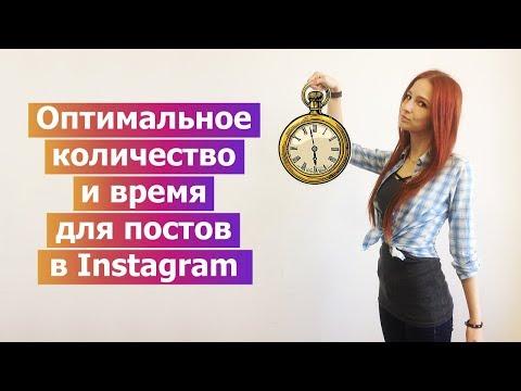 Оптимальное количество постов и время постинга в Instagram (Ukraine & English subtitles)
