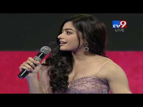 Rashmika Mandanna speech at Geetha Govindam Audio Launch - TV9