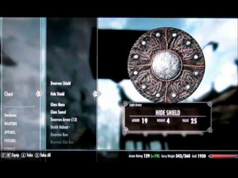 Skyrim Glitch - Secret Out Of Bounds Chest Under Whiterun!! XBOX 360. PS3 and PC!!