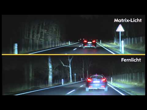 Opel LED light matrix technology introduced