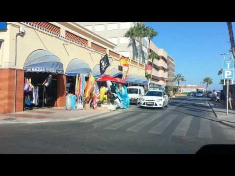 Drive through Santa Pola to the harbour / marina