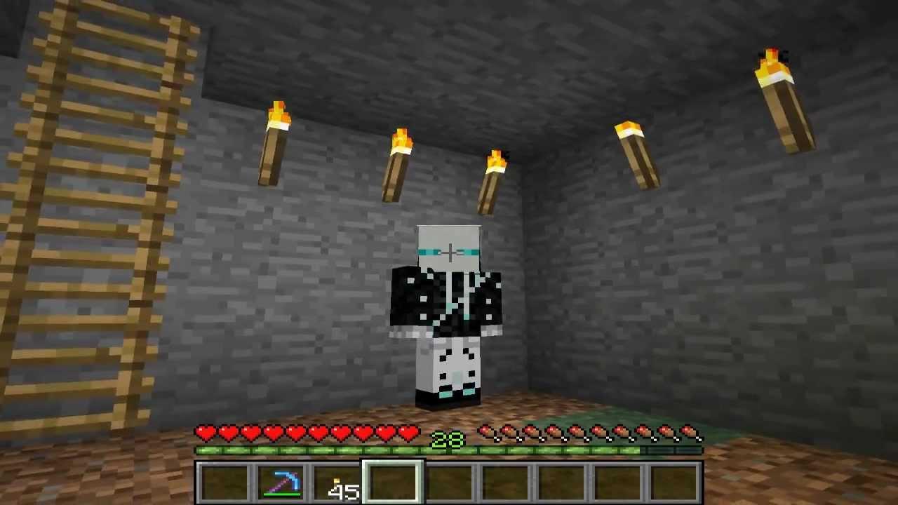 Minecraft Tutorials-Спавн дружелюбных мобов! FunnyCat.TV