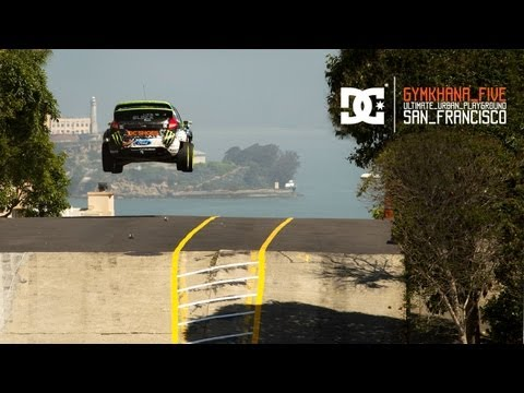 Image video Ken Block est � San Francisco (Gymkhana n�5)