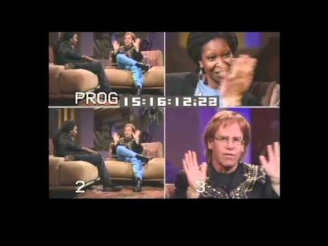 90's Throwback: The Whoopi Goldberg Show - Elton John