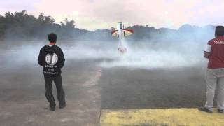 Yak-54 Crash Giant RC 3D- ACIDENTE AEROMODELO