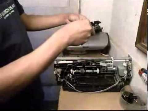 Cara Membongkar Printer Epson R230 dan Memperbaiki Roller Printer