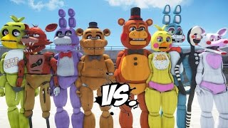 FIVE NIGHTS AT FREDDY'S VS FIVE NIGHTS AT FREDDY'S 2