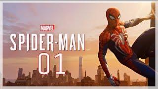 SPIDER MAN PS4 Walkthrough Gameplay Part 01 (PS4 pro)