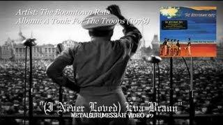 Watch Boomtown Rats Eva Braun video