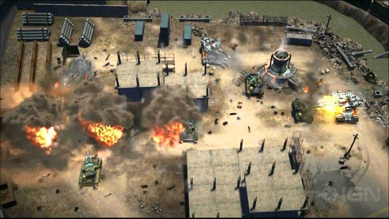 command amp conquer gameplay demo ign live e3 2013 youtube