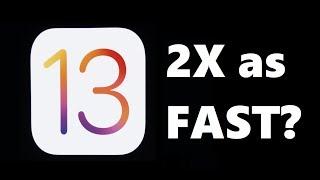 iOS 12 vs iOS 13 Beta Speed Test!