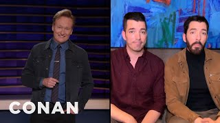 "The ""Property Brothers"" Give Conan Advice About Buying Greenland - CONAN on TBS"