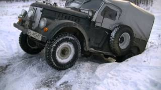 GAZ 69 OFF ROAD awesome (PART 3)