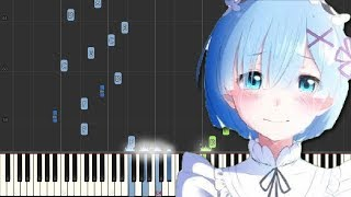 Re:Zero OP 2 - Paradisus Paradoxum (Piano Tutorial) [Synthesia]