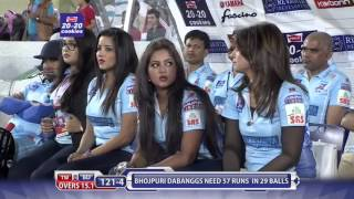 Adah Sharma at Match Centre - CCL6 || Telugu Warriors vs Bhojpuri Dabanggs
