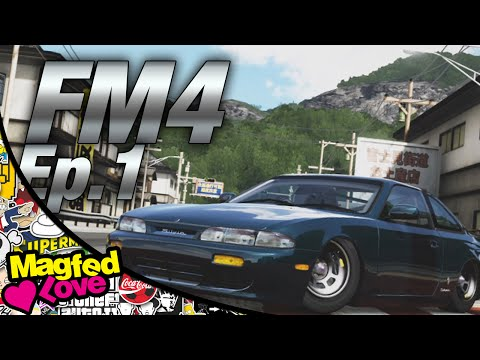 Forza Motorsport 4 - Ep.1 - Slammed S14