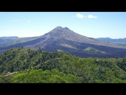 The Mount Batur 1717 Mtr. is an active volcano located at the center of two concentric calderas nort