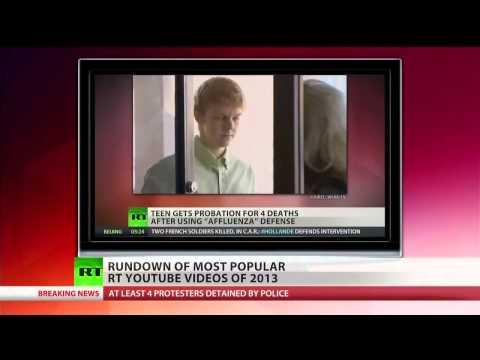 RT America's Viral Videos Of 2013