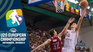 LIVE - Russia v Belgium - FIBA U20 European Championship Division B 2019