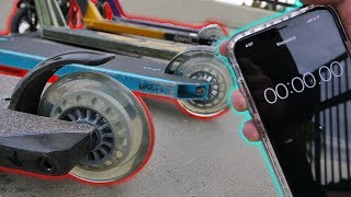 WHEEL DESTROY CHALLENGE AT SKATEPARK!