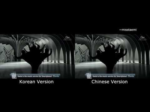 EXO '늑대와 미녀 WOLF' Music Video [Korean & Chinese version]