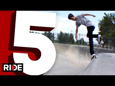 Daniel Espinoza 5-Favorite Transition Tricks
