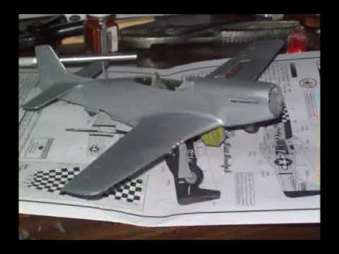 Revell P-51 Mustang 1-48 scale model