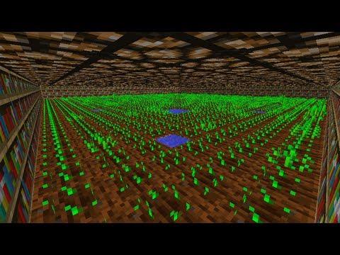 Ciencia en Minecraft. ¿Afecta la altura a los cultivos?