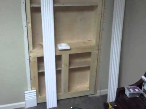 The Hidden Bookcase Door Bt Productions Youtube