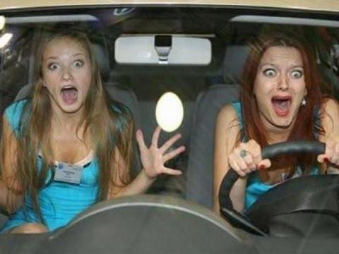 Авто-БАБЫ за рулем! СмехОприколы #2