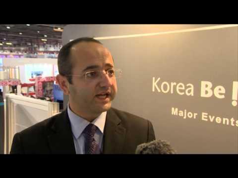 Ramy Salameh, PR manager, Korea Tourism Organization @ WTM 2012