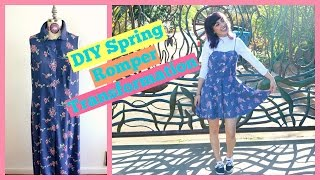 DIY Spring Romper Transformation | Crafty Amy