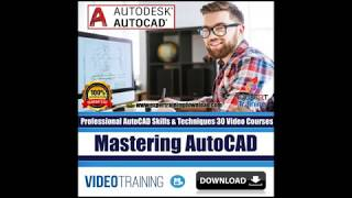 Autocad Expert Training  video tutorials download