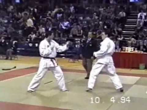 Lee Clark (1st Round) EKGB English National Karate Championships 1994