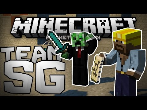 EPIC GAMES WITH EPIC KILLS!!! - Team Survival Games LBSG - Minecraft PE (Pocket Edition)