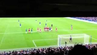 Chelsea - Arsenal : Alex's free-kick
