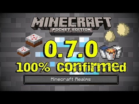 100% Confirmed Features in 0.7.0 Minecraft PE Update!