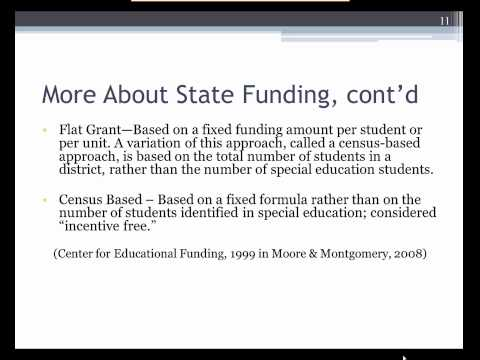 Module 8: Funding School Based Services