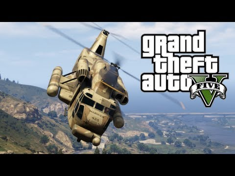 GTA 5 - Army. Special Abilities. Marines. Helicopters. Yachts & Strip Clubs! (GTA V)