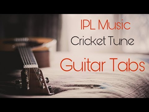 IPL MUSIC tone on acoustic guitar by Hatim