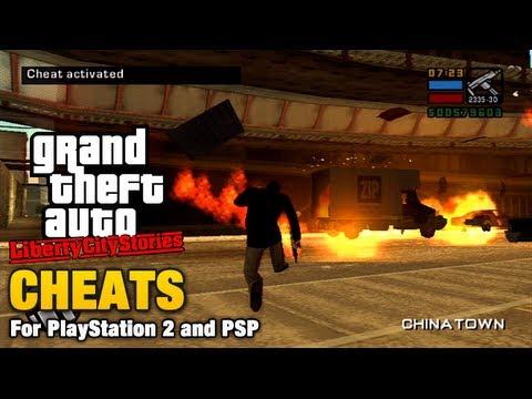 GTA Liberty City Stories - Cheats