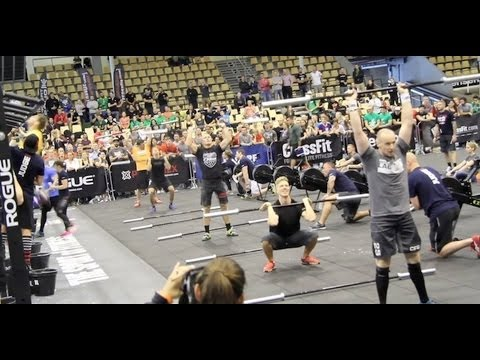 CrossFit - Post-Jackie at the 2013 Europe Regional