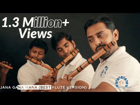 Jana Gana Mana (Best Flute Version) - The National Anthem of India by Flute Gurukul