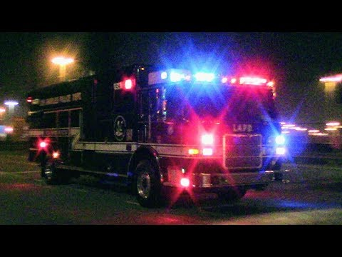 LAPD SWAT Units & LAFD Tactical Medic Responding