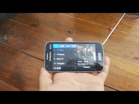 Galaxy SII - TV (Galaxy Ace 3) - Unboxing e Primeiras Impressões