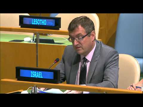 Israel welcomes the outcome document for the adoption of the Post 2015 development agenda