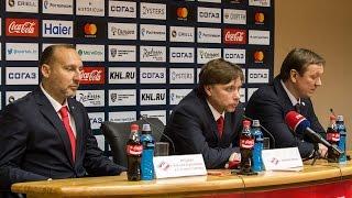 Пресс-конференция после игры с «Торпедо»