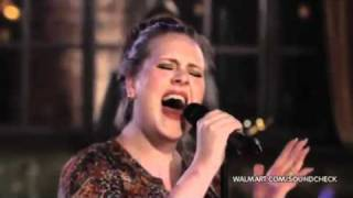 Adele Video - Adele - Rolling In The Deep (Live At Walmart Soundcheck)
