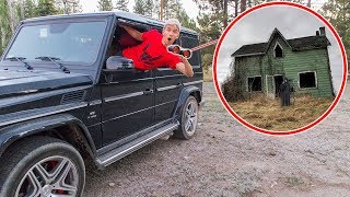 WE BROKE INTO THE GAME MASTER TOP SECRET ABANDONED HOUSE!!