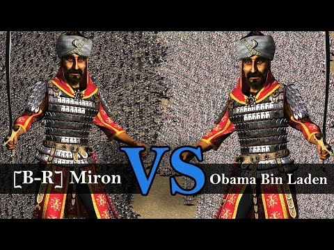 "Stronghold Crusader ""The Sultan"" Tournament - [B-R] Miron vs Obama Bin Laden 